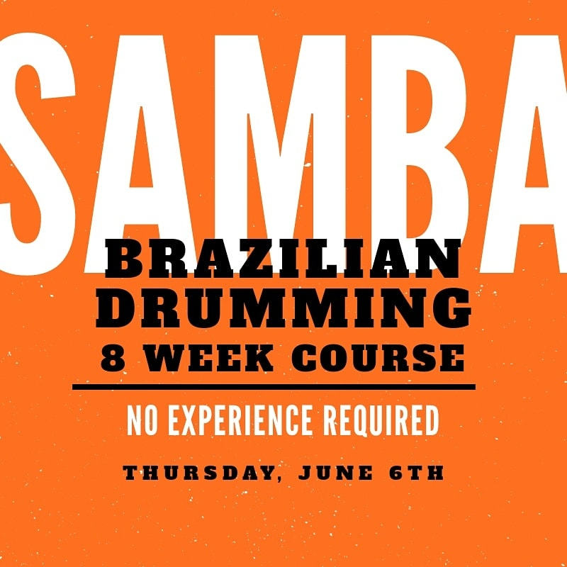SaSamba-Drumming-Course
