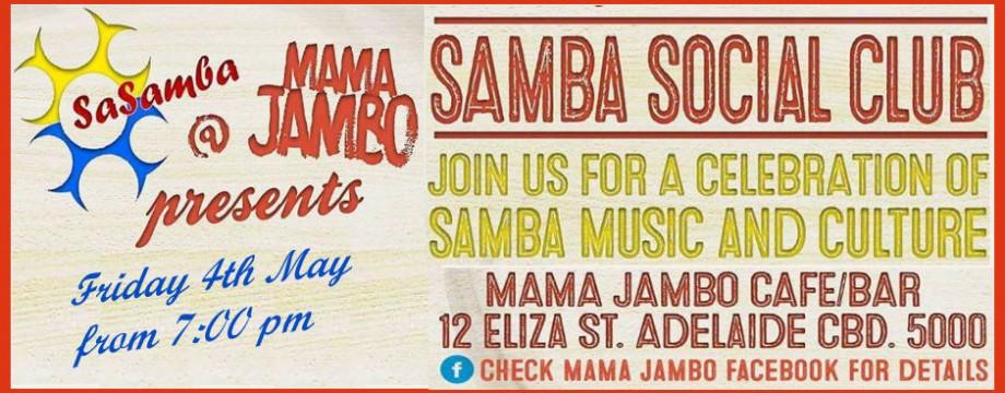 SaSamba Social Club Mama Jambo