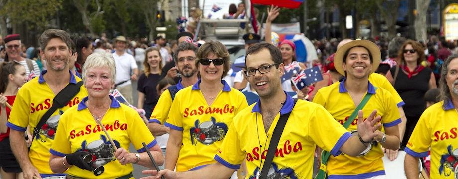 SaSamba Australia Day 2016