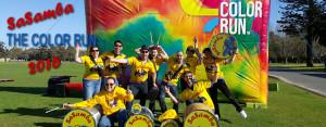 SaSamba Colour Run Sep 2016