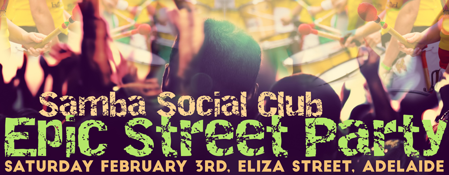 SaSamba Social Club Epic Street Party